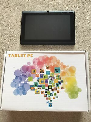 £5 • Buy Tablet PC Android Tablet 7' Inch 8 GB