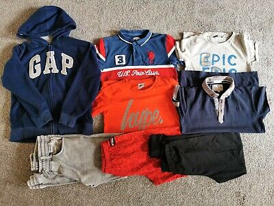 £0.99 • Buy Bundle Of Clothes Boy 11-12 Years Tops Joggers Hoody GAP Hype Polo ASS 8 Items