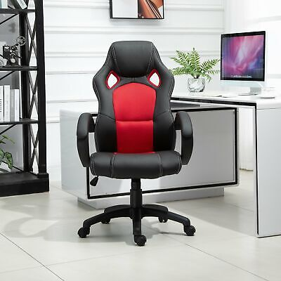 AU145.29 • Buy Racing Chair Gaming Sports Swivel PU Leather Office PC Chair Height Adjustable-B
