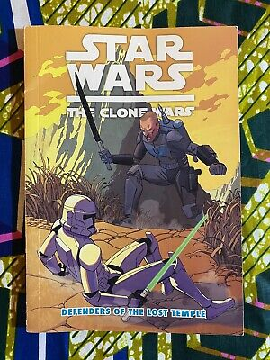 £162.70 • Buy DEFENDERS OF THE LOST TEMPLE : Star Wars - THE CLONE WARS -- Dark Horse Books