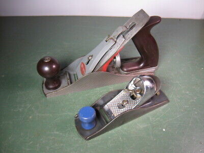 £8.90 • Buy Old Used Vintage Woodworking Tools Planes Craftsman 2 Sizes Solid Shape.