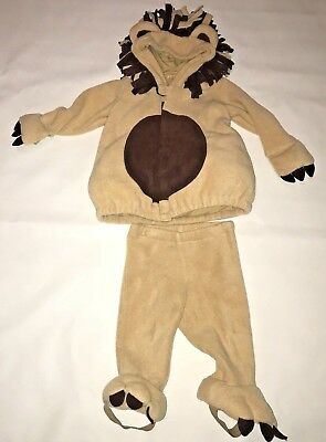 £18.18 • Buy Old Navy Lion Halloween Costume Infant Baby Girl Boy Size 12 24 Months 2 Piece