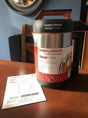 £16.50 • Buy Morphy Richards Compact 1.6L Stainless Steel Soup Maker Unused