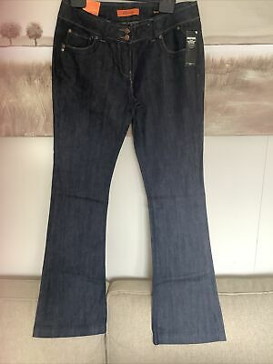 """£12 • Buy New Look Size 14 Skinny Flare Jeans 34""""Long BNWT"""