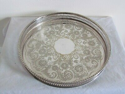 £20 • Buy Viners Of Sheffield Silver Plated Chased Tray
