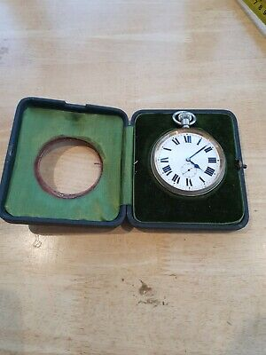 £31.55 • Buy Goliath Pocket Watch And Case With Stand