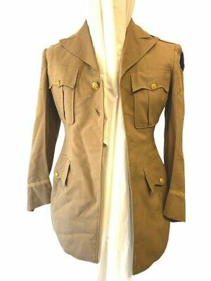 £43.65 • Buy WW2 USAAF Named Officers Pinks Uniform Jacket With Bullion Patch