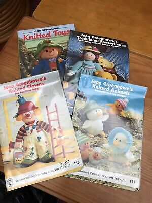 £5 • Buy Jean Greenhowe Toy Knitting Patterns And Pattern  Book.