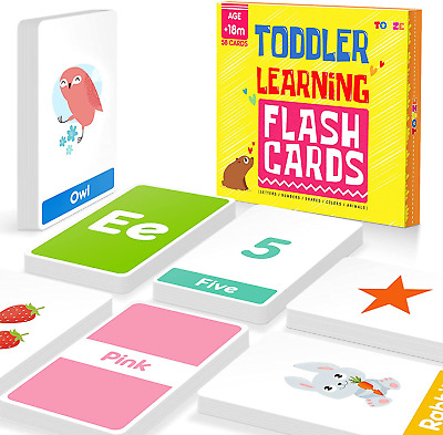 £10.98 • Buy Toyze Toys For 1-6 Year Old Boys Girls,Flash Cards For Toddlers Age 1 2 3 4 5