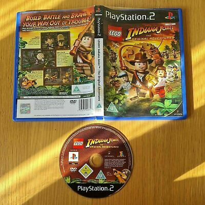 £4.99 • Buy Lego Indiana Jones: The Original Adventures Playstation 2 Ps2 Pal Game Boxed