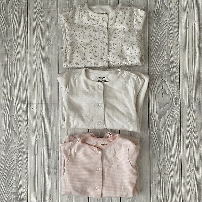 £4 • Buy F&F Baby Girl Sleepsuits X3 - Size 9-12 Months