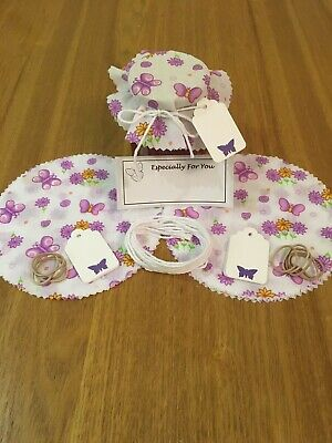 £3.30 • Buy 10 X Jam Jar Covers,Bands,Ties,Labels & Tags Personalised Labels