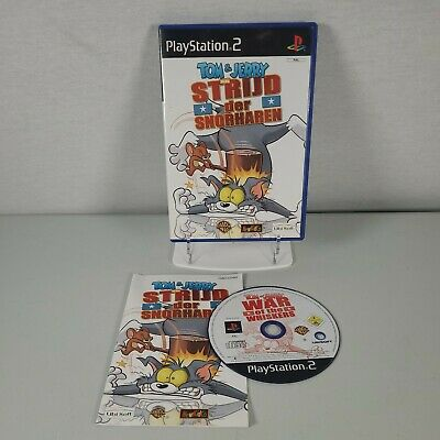 £4.99 • Buy Tom & Jerry In War Of The Whiskers Playstation PS2 Game Manual PAL *DUTCH COVER*