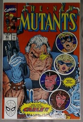 £37.10 • Buy New Mutants 87 First Appearance Of Cable Marvel Comics 1990 Rob Liefeld Signed