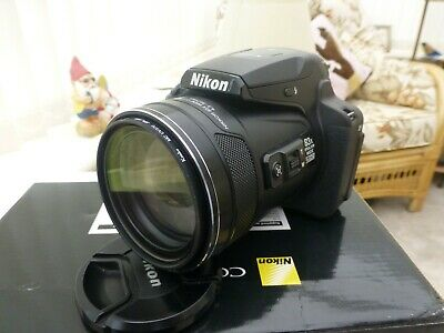 £403 • Buy Nikon COOLPIX P900 16.0MP Digital Camera - Black Immaculate Condition