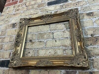 £48 • Buy Fabulous Rococo / Baroque Gold Gilt Gesso Vintage Picture Frame, Chunky, Medium