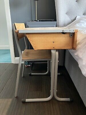 £15 • Buy Vintage Childs School Desk And Chair