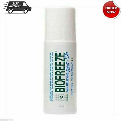 £11.49 • Buy New Biofreeze Pain Relieving Roll-ON 89g Uk Stock