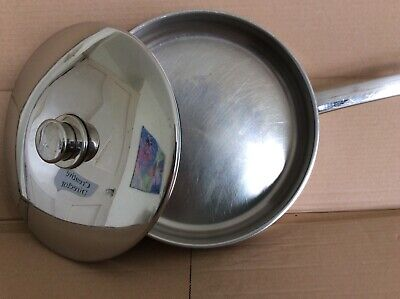 £9.50 • Buy Stellar Deep Frying Pan With Lid Stainless Steel 26cm Excellent Used Condition