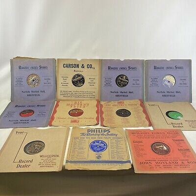 £100 • Buy Gramophone Records 78 10  Bundle Job Lot X11 Rodgers Stores-Carson&Co-Phillips