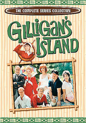 £15.39 • Buy Gilligans Island: The Complete Series Collection (DVD, 2007, 9-Disc Set) Box Set