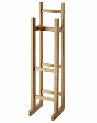 AU75.47 • Buy IKEA RÅGRUND 3 X Toilet Paper Roll Stand For Bathroom 100% Bamboo Natural