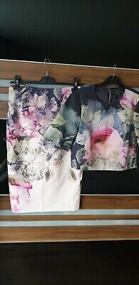 £85 • Buy Ted Baker Skirt & Top,  Size 2 UK 10 Excellent Condition