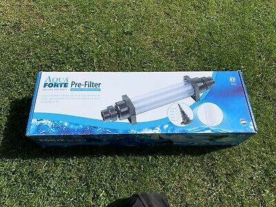 £41 • Buy Dirty Harry In Line Pond Pre Filter, Koi, Carp, Filtration, Pipe Clear