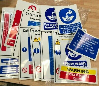 £10 • Buy Coshh Health And Safety Stickers Mounted Workplace Posters  Office Shop Factory