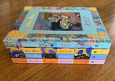 £52.95 • Buy Ken Done Books Complete Set Of 4 Outback, Sydney, Beach, Reef