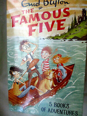 £12.50 • Buy The Famous Five Enid Blyton Books X5 SET Books 1 / 5 BRAND NEW IN WRAPPER.2017