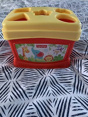 £1.30 • Buy Fisher-Price Baby's First Blocks Shape Sorter Toy