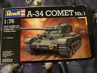 £10 • Buy Revell A-34 Comet Tank 1/76th Scale