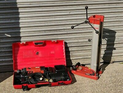 £899.99 • Buy Hilti DD130 Diamond Core Drill 110v & Stand Wet Dry Hole Coring Drilling Hand