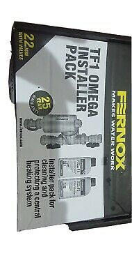 £70 • Buy Fernox Tf1 Omega Magnetic Central Heating Filter Complete With Valves 22mm 62249