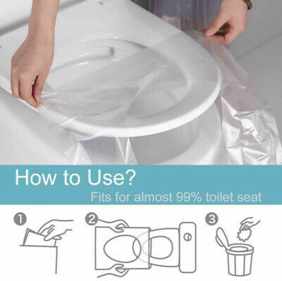 £7.99 • Buy 50pcs Biodegradable Disposable Toilet Seat Cover Safety Travel Toilet Paper Pad