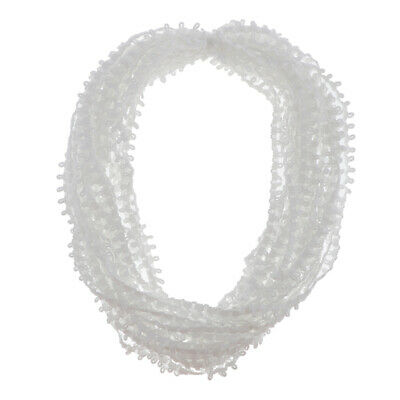 £6.13 • Buy Elastic Sewing Lace Edge Braid Trim W/ Button Loops For Corset Wedding Dress