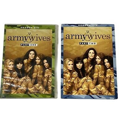 £40.74 • Buy Army Wives Season 6 Part 1 And 2 VERY RARE