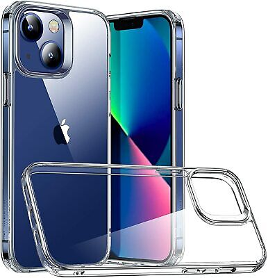 £3.99 • Buy Case For IPhone 13 Pro Max 11 12 XR X 7 8 SE Clear Shockproof Cover Gel Silicone