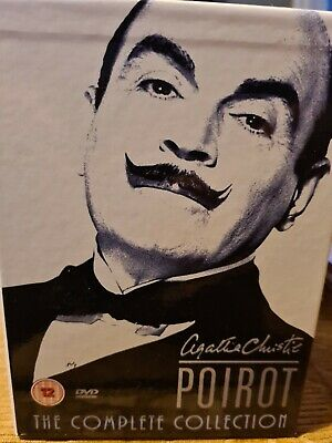 £34.99 • Buy Agatha Christie's Poirot - The Complete Collection DVD! 24 Disc Set, EXCELLENT