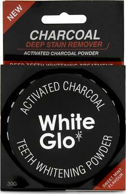 AU14.99 • Buy White Glo Activated Charcoal Teeth Whitening Powder 30g