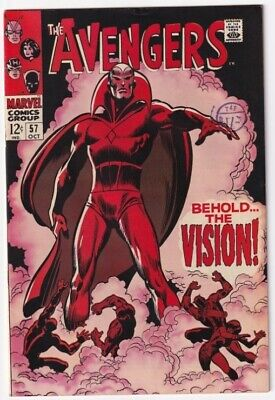 £599 • Buy The Avengers #57 - 1st Appearance Of Vision