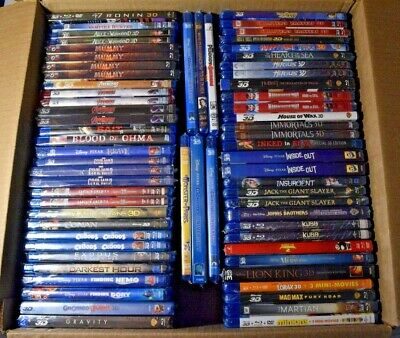 AU17.48 • Buy 3D Blu-ray Collection - 3D Movies For 3DTV - 3D Projectors - YOU CHOOSE - LOOK!