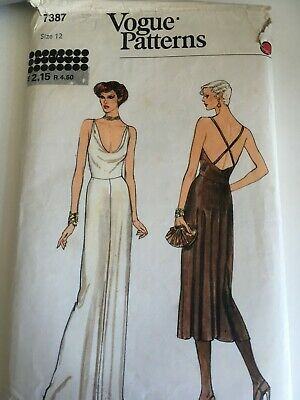 £1.50 • Buy Vogue Vintage Sewing Pattern Womens Dress Size 12