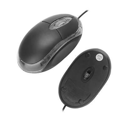 £3.89 • Buy Optical Small Wired Mouse For PC Laptop Computer Scroll Wheel BLACK USB  New UK