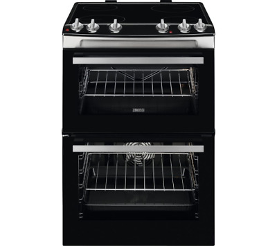 £329.99 • Buy Zanussi ZCV660TRXE 60cm Electric Ceramic Cooker Stainless Steel BLEMISHED