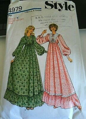 £2.70 • Buy Style - Vintage Sewing Pattern Womens Dress Size 12 Bust 87cm