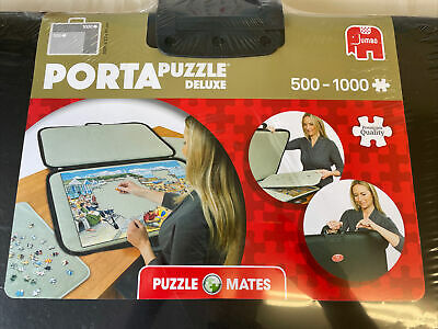 £29.99 • Buy Puzzle Mates Portapuzzle Deluxe 1000 Piece Jumbo Jigsaw Board Storage Mat Case