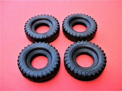 £4.50 • Buy New 4 X 27mm Dinky Tyres. Euclid Dumper 965 / Launcher 666 / French 885/886/888