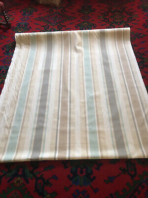 £11.99 • Buy Under Half Price Laura Ashley Awning Stripe Fabric 8 Metres Available Per Metre